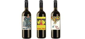 Some of Votto's collectible wines.
