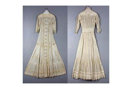 Pictures of 20th century dresses