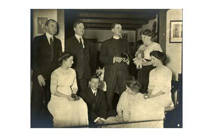 Group portrait. Photograph. about 1907-1915.