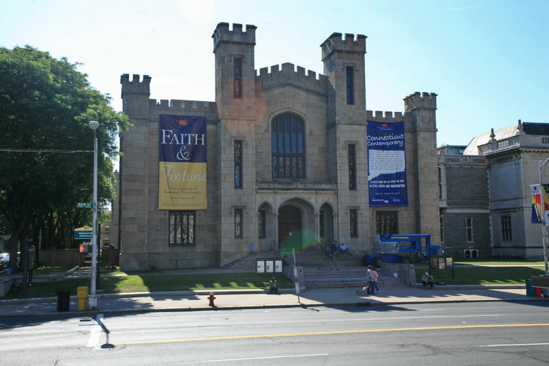 The Wadsworth Atheneum in Hartford, Connecticut.