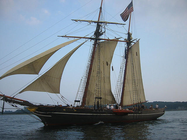 The Amistad is heading down to Puerto Rico to film a NBC miniseries.