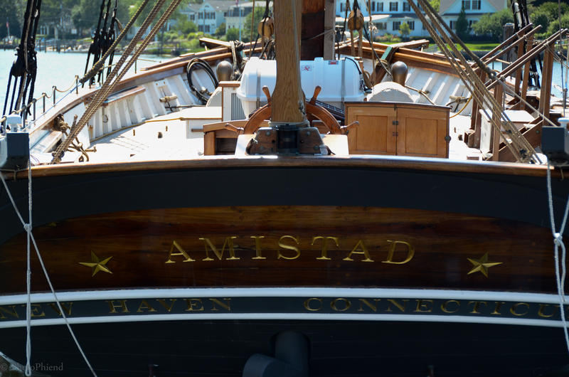 Replica of Spanish Schooner Amistad