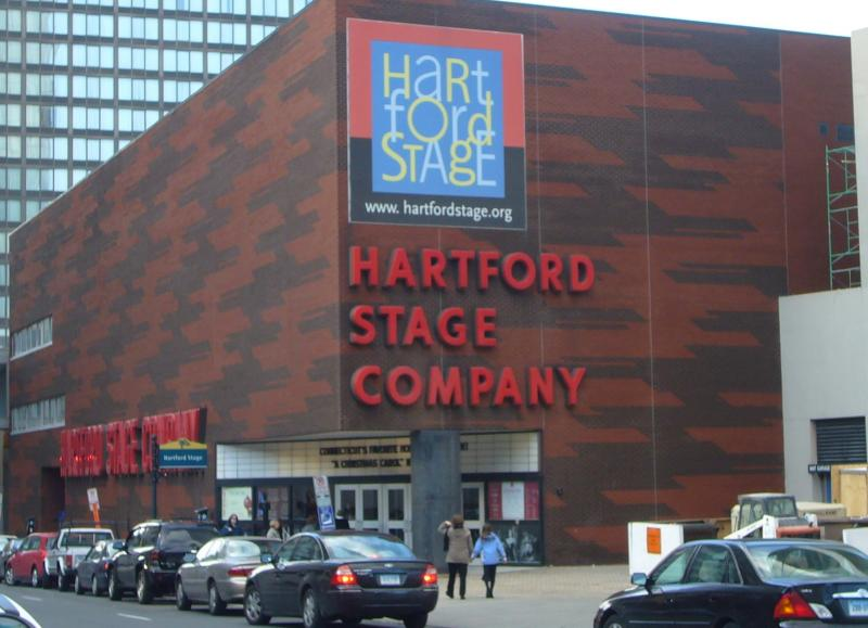 Hartford Stage Company signage