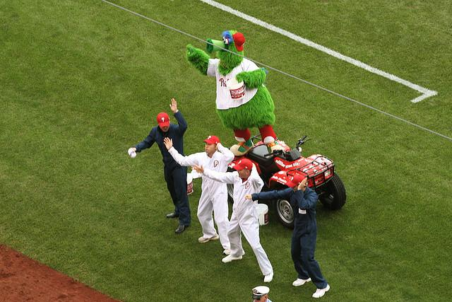 Philadelphia Philly Phanatic