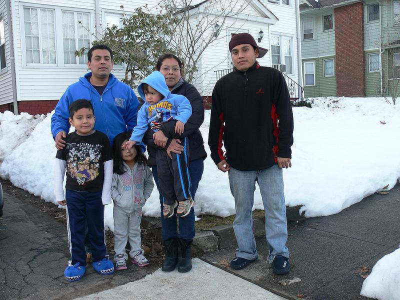 The Islas family in New Haven