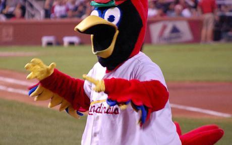 """St. Louis Cardinals """"Fredbird"""""""
