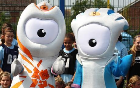 Mascots for the 2012 Olympics
