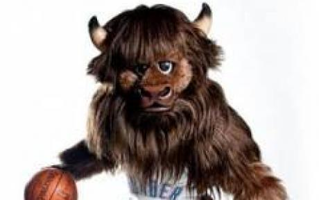 Oklahoma City Thunder's Rumble the Bison