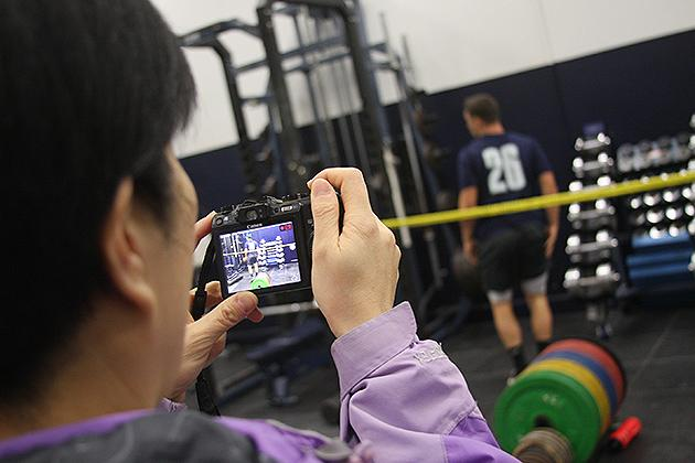Chinese coaches, trainers, and physicians will spend the next few days learning about the latest innovations in sports science.