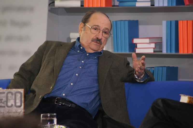 "Italian novelist Umberto Eco will give a lecture Friday afternoon at 5:30 at the Yale University Art Gallery called ""The Library as a Model for Culture: Preserving, Filtering, Deleting, and Recovering."""