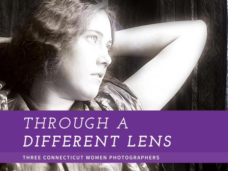 Through a Different Lens: Three Connecticut Women Photographers is on view now at the Connecticut Historical Society through March 29, 2014. It explores the work of three photographers, and uses objects to provide technological history.