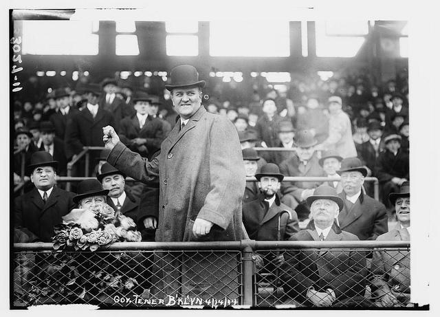 Pennsylvania Governor John K. Tener at Ebbets Field