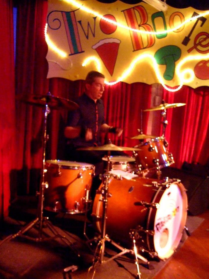 """Stupidity's drummer Tommy """"Tommy Boy"""" Sjostrom"""