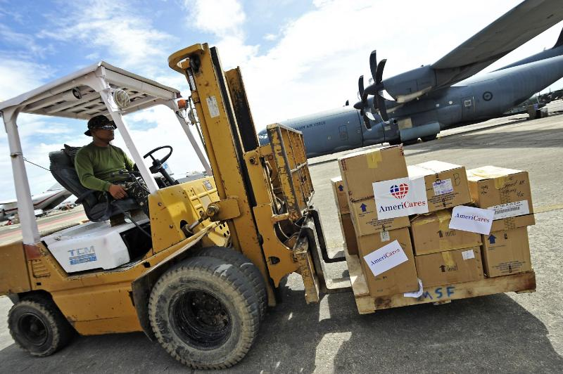 To date, Americares has delivered $1 miilion in medical aid to the Phillipines. The challenge for Amerciares, and other relief organizations is distributing the aid to the hardest hit areas.