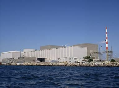 Millstone nuclear power plant in Waterford.