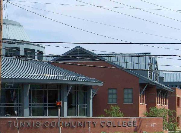 Tunxis Community College in Farmington.