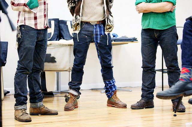 The jeans of the jeansmakers.