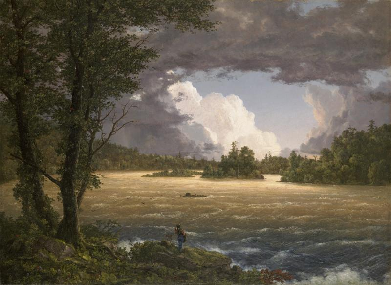 "Frederic Edwin Church was a born in Hartford. In ""Rapids of the Susquehanna,"" he demonstrates the wonder inherent in the American landscape."