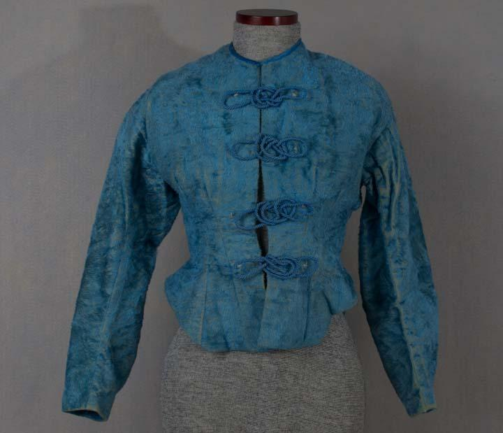 Woman's Ice Skating Jacket. 1868-1870.This jacket was meant to keep the wearer both warm and fashionable while spending some time on the ice.