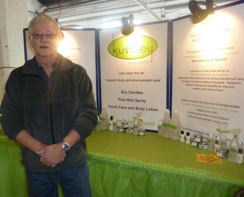 Jim Seiler launched Kushley, LLC this October. The firm carries marijuana odor control  products.