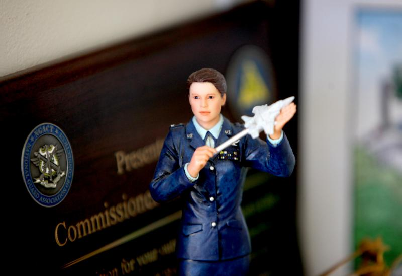Flight nurse statue