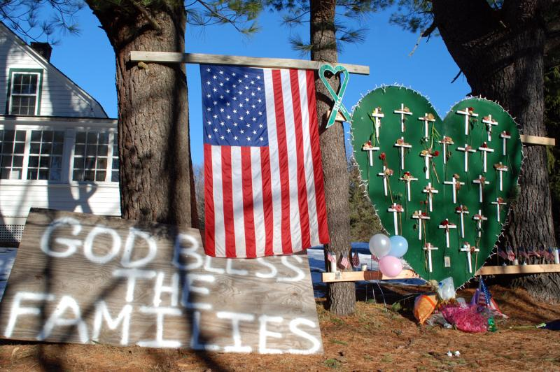 A Newtown tribute.