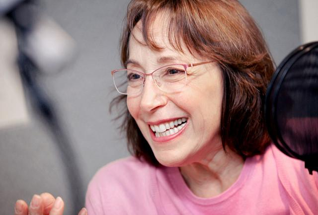 "Didi Conn is a stage, film, and television actress currently performing in the Hartford Stage production of ""The Underpants."""