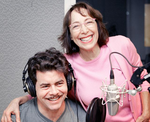 Didi Conn and Burke Moses