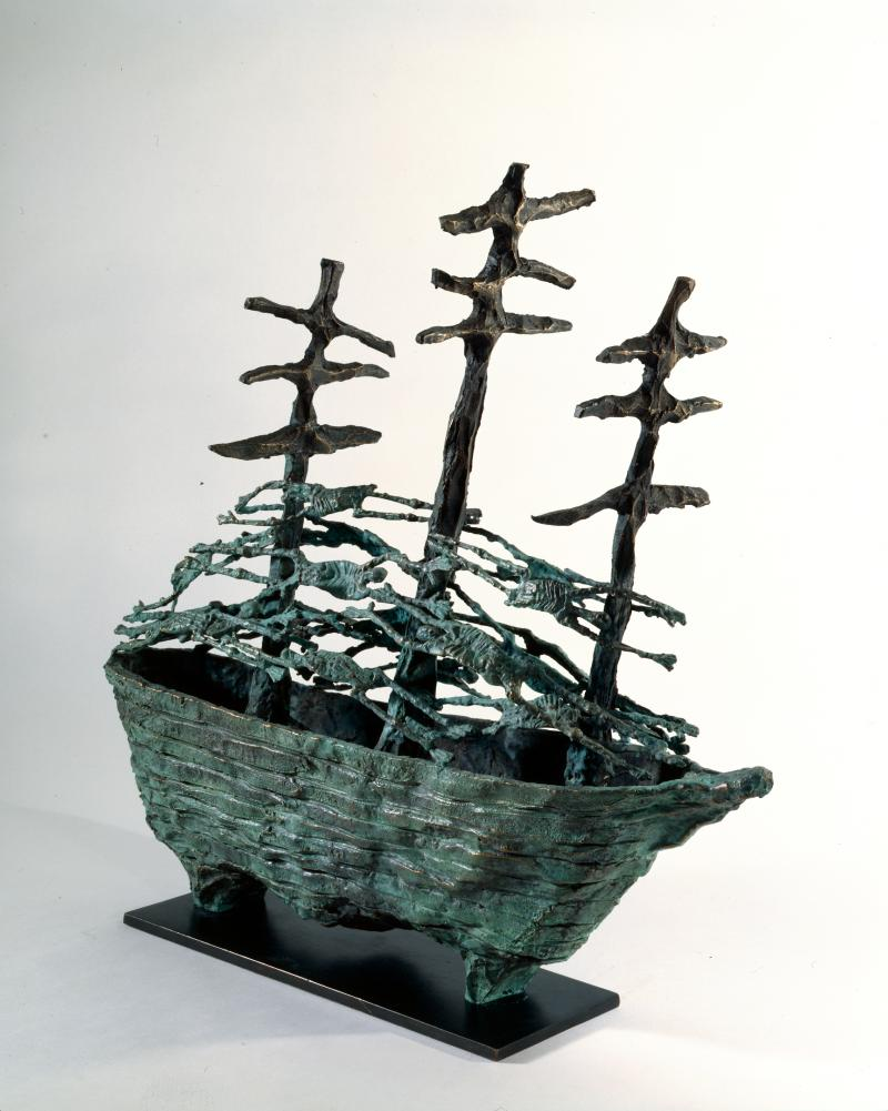 Famine Ship, John Behan (2000)