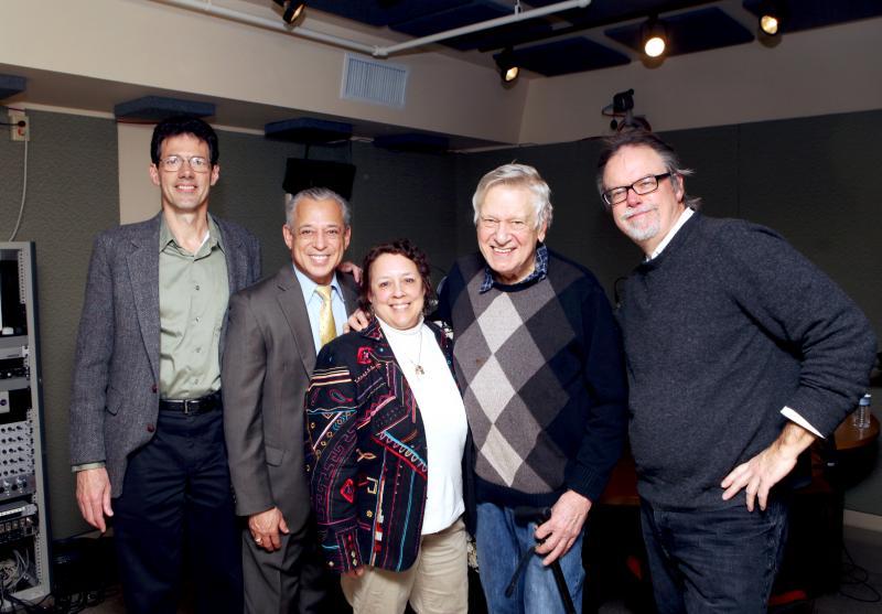 Irwin Krieger, Pedro Segarra, Robin McHaelen, Brian Murray, Colin McEnroe.