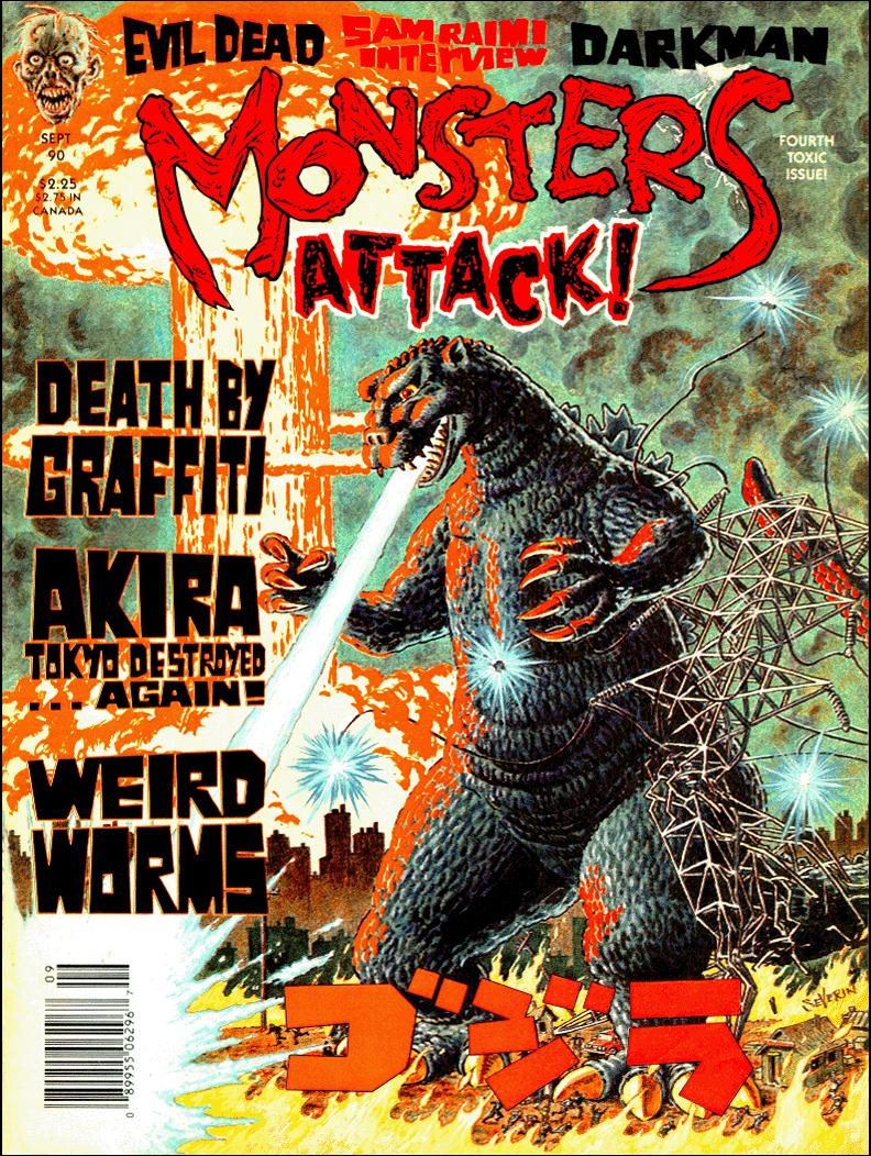 After Charlton went out of business, many of their artists, like John Severin, Steve Ditko, Pat Boyette, Gray Morrow and Alex Toth contributed to Mort Todd's Monsters Attack! magazine.