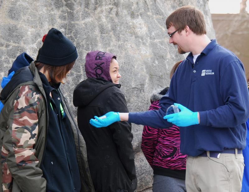 Alaskan students were also invited to investigate whale snot.
