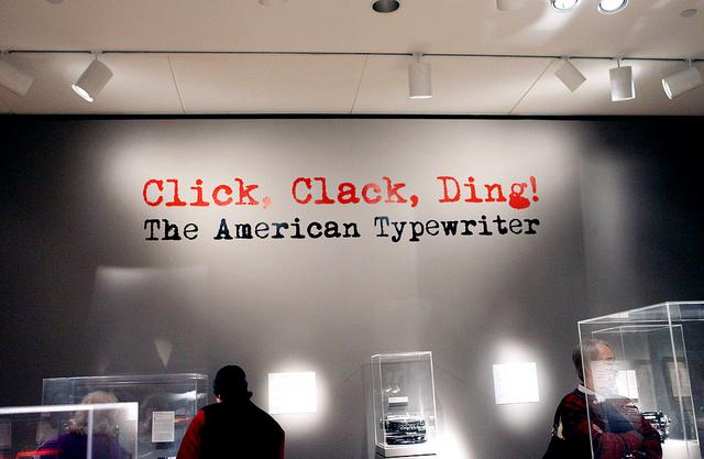 Click! Clack! Ding! The American Typewriter