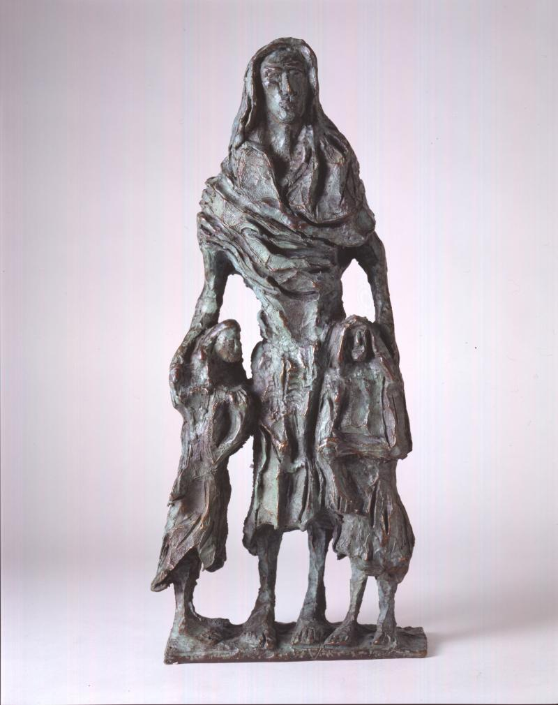 Famine Mother and Child, John Behan (1938)