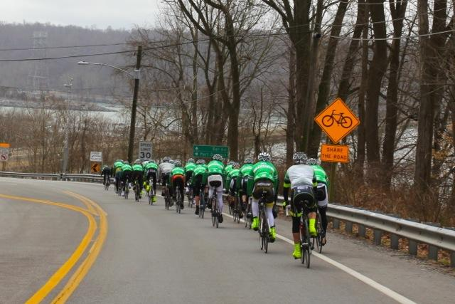 Team 26 Left Newtown on Saturday. They arrived in D.C late Tuesday morning.