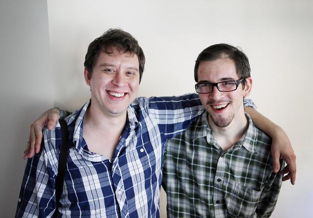 Chris Capozziello, left, and Nick Capozziello.