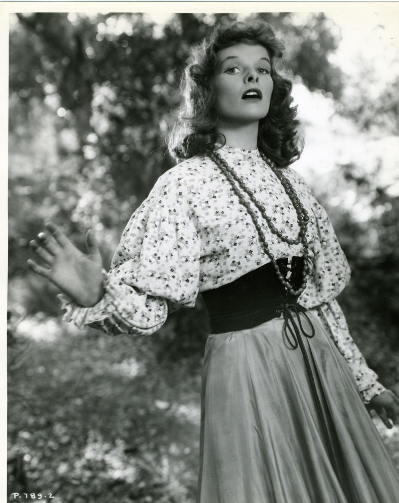 Katherine Hepburn as Babbie in The Little Minister.