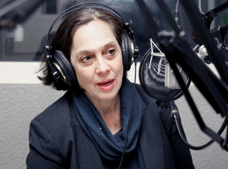 Joette Katz during an earlier visit to WNPR.