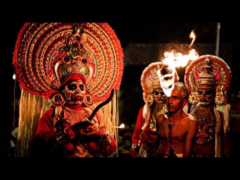 Kudiyattam is the last surviving form of classic Sanskrit theater.
