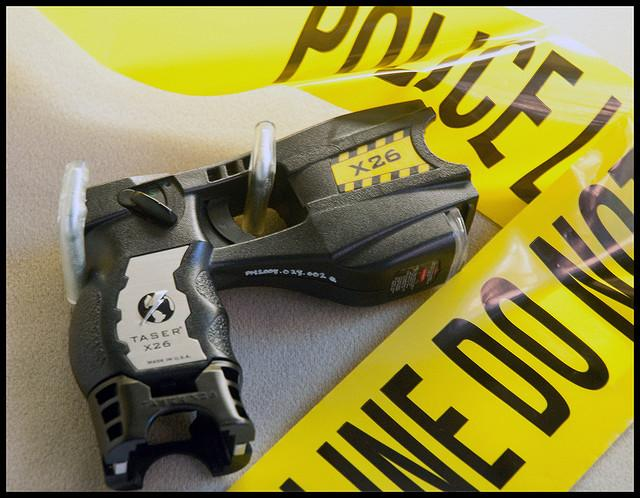 One of the Tasers made by Taser International.
