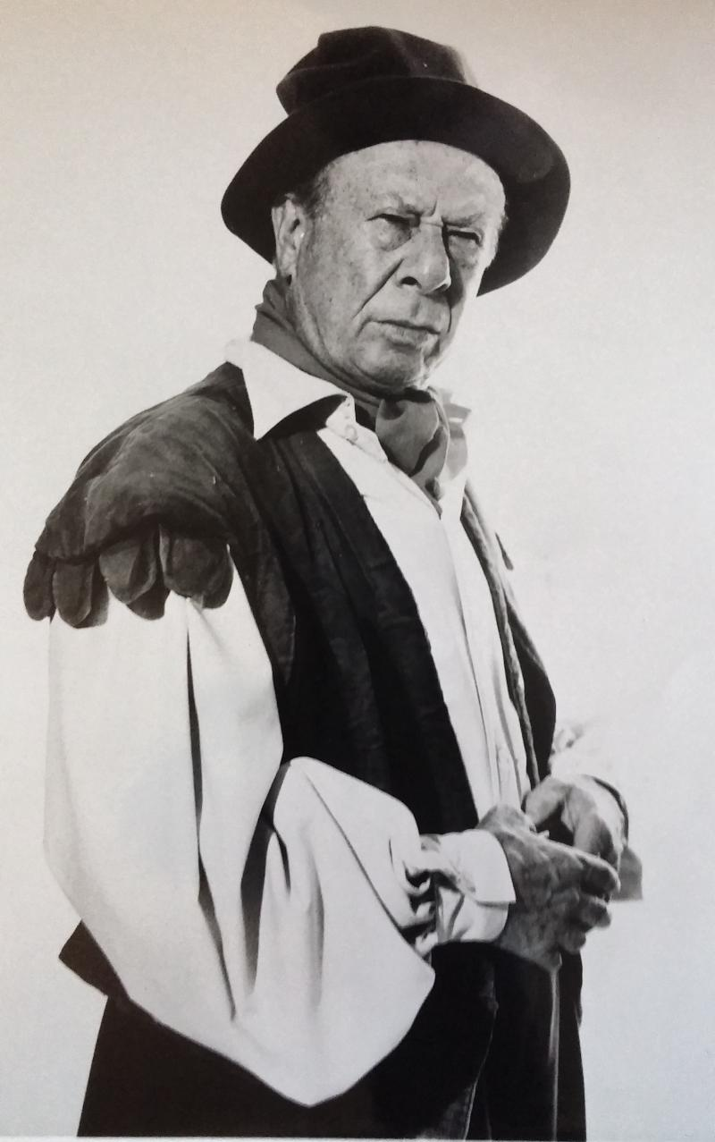"Bert Lahr as Bottom in ""A Midsummer Night's Dream,"" 1960."