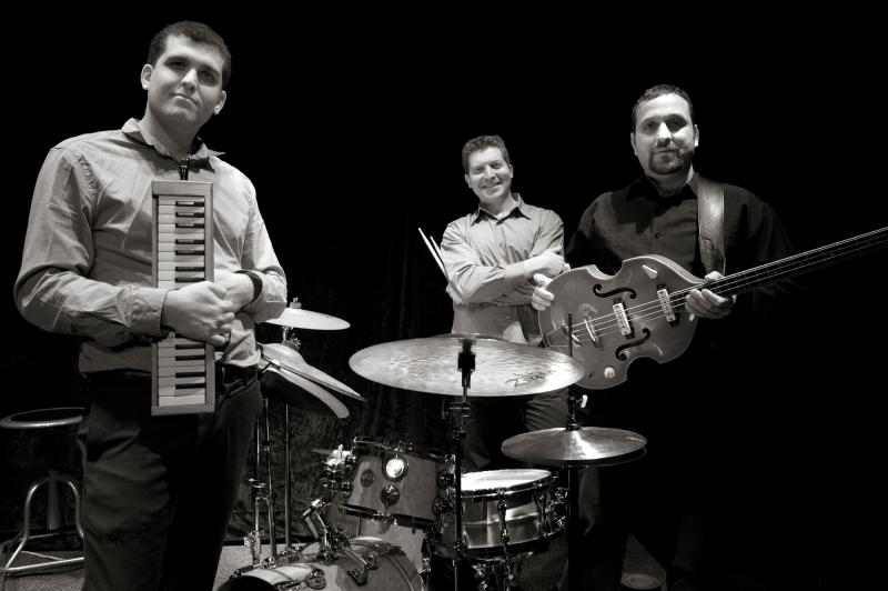 Trio Shalva. From left, Assaf Gleizner, Nadav Snir-Zelniker, and Koby Hayon.