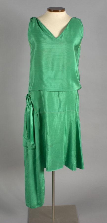 Dress. About 1925-1930. Gift of Sybil Gillett Smith.