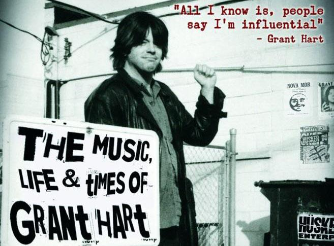 Grant Hart is best known as the drummer for the influential punk rock band Hüsker Dü.