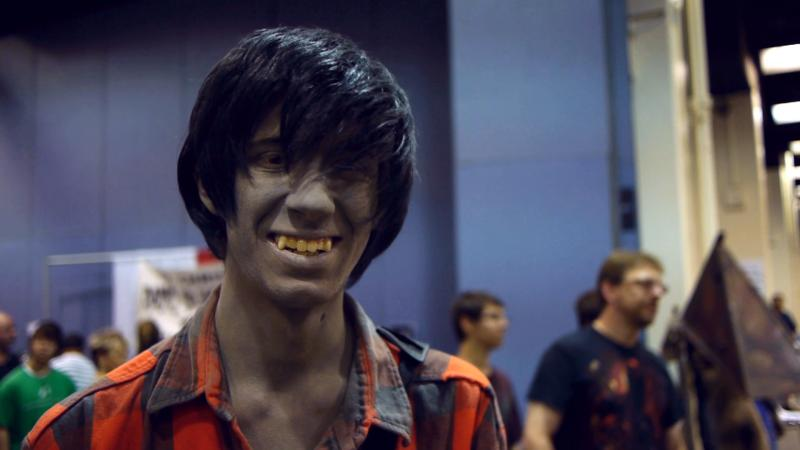 A happy zombie at Hartford Comic Con.