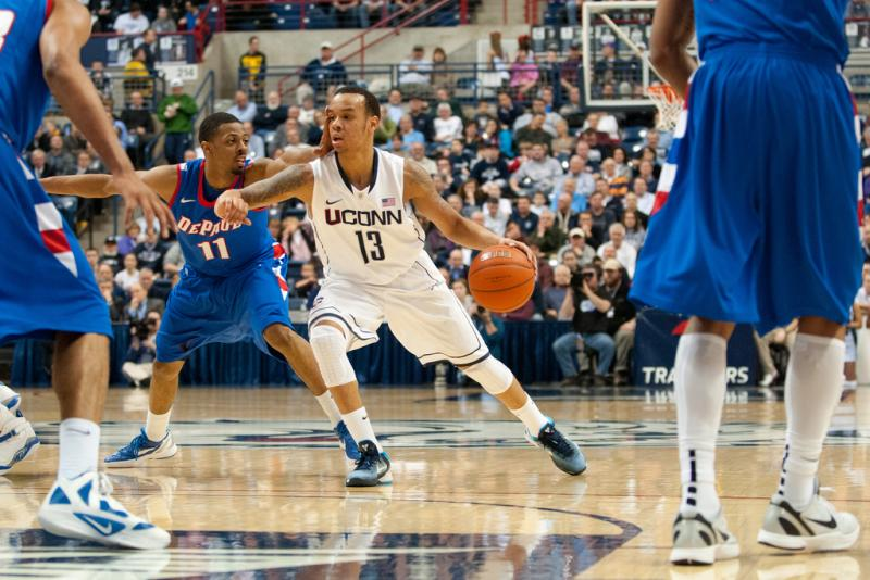 Former UConn star Shabazz Napier will start his professional career with the Miami Heat.