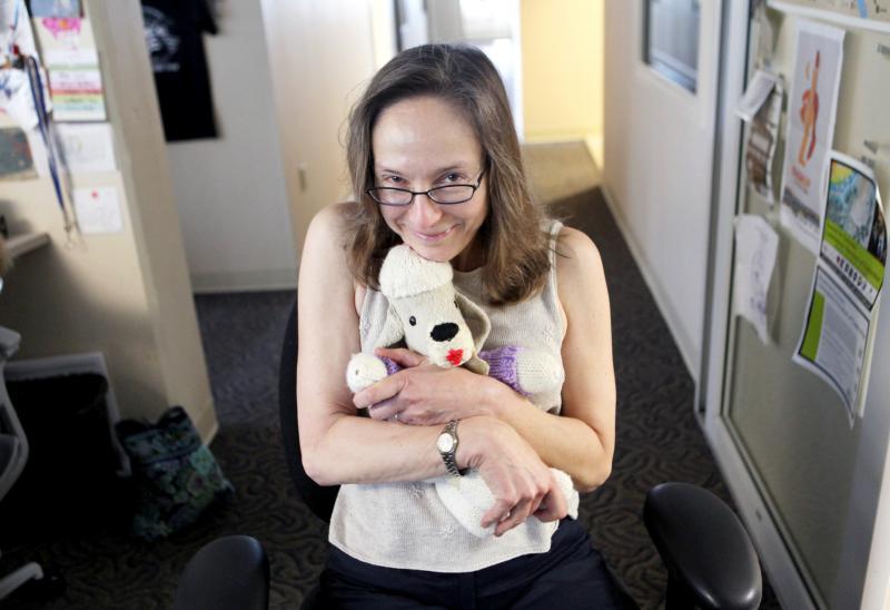 WNPR Producer Betsy Kaplan's French Poodle, Gigi.