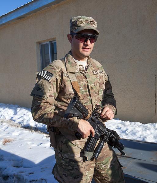 Corporal Dan Elenhof