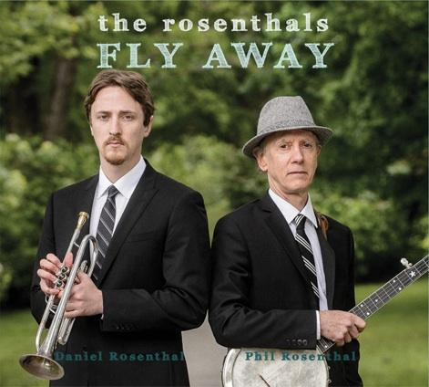 "The album cover for the Rosenthal's 2013 release ""Fly Away"""