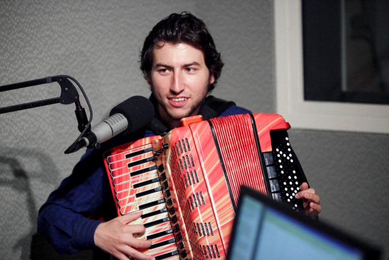 Cory Pesaturo is a multiple award-winning accordion player from Rhode Island